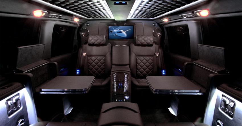 Mercedes viano le luxe se fait discret le for Interior mercedes viano