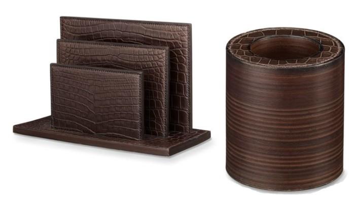 Herm s une collection d 39 accessoires pour votre bureau for Accessoire bureau luxe