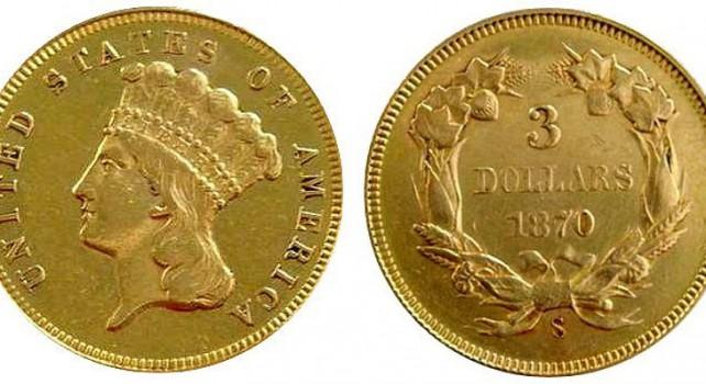 Enchères : La pièce d'or la plus rare des États-Unis retrouvée dans un livre