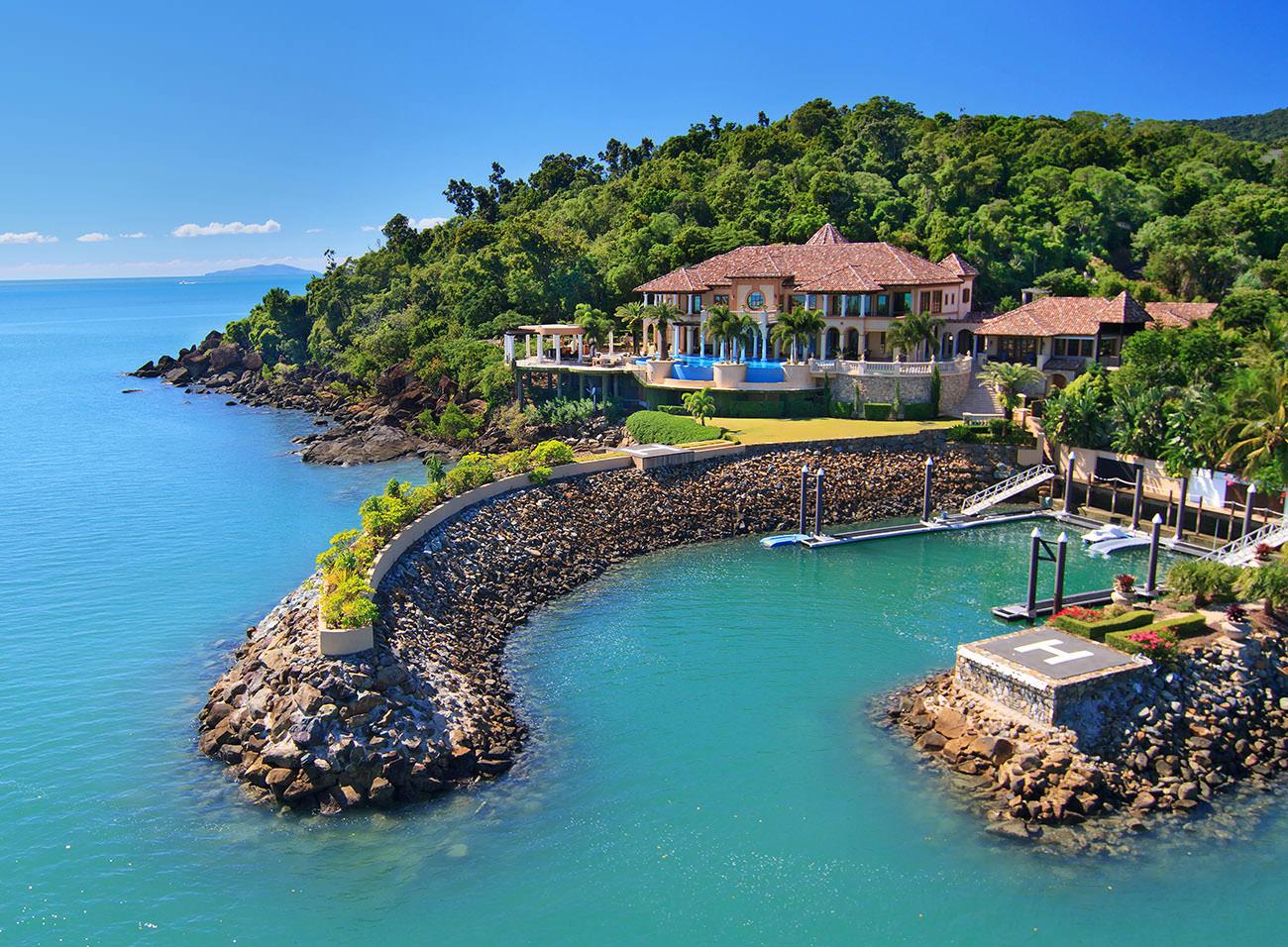 Mandalay house la plus belle villa des côtes australes
