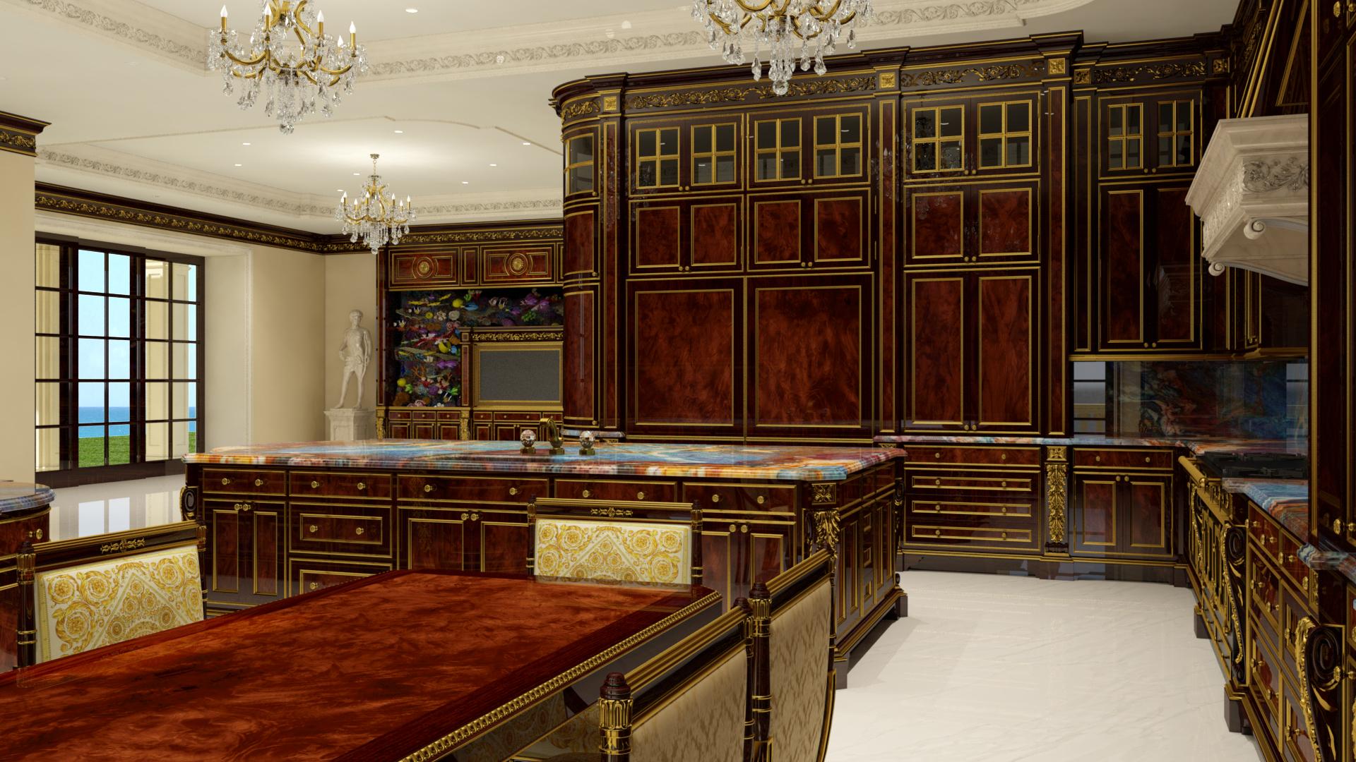 Gourmet Kitchen Cabinets Le Palais Royal De Floride La Villa La Plus Ch 232 Re Des