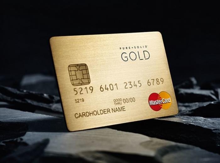 Pure solid mastercard des cartes de cr dits fabriqu es - Plafond carte gold mastercard credit agricole ...