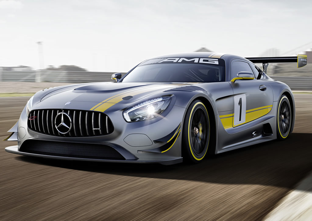 mercedes amg gt3 2016 la firme allemande d voile son nouveau bolide. Black Bedroom Furniture Sets. Home Design Ideas
