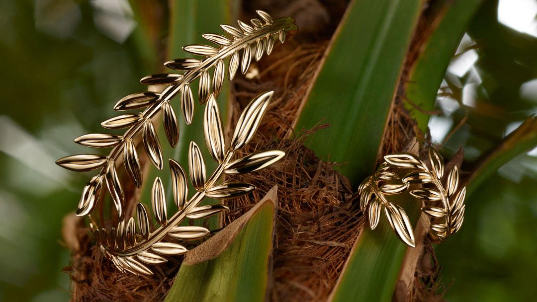 chopard palme verte la palme d or inspire une collection de bijoux. Black Bedroom Furniture Sets. Home Design Ideas